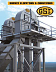 bucket elevator grain conveyor