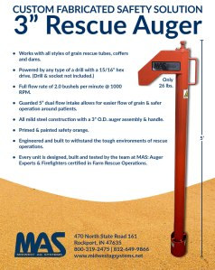 Safety Rescue Auger